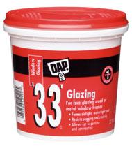 Dap 33 Glazing